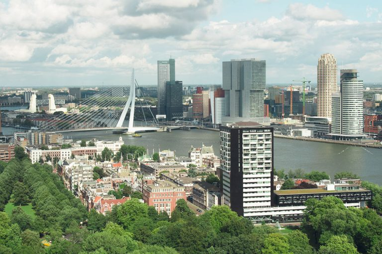 Rotterdam from The Air